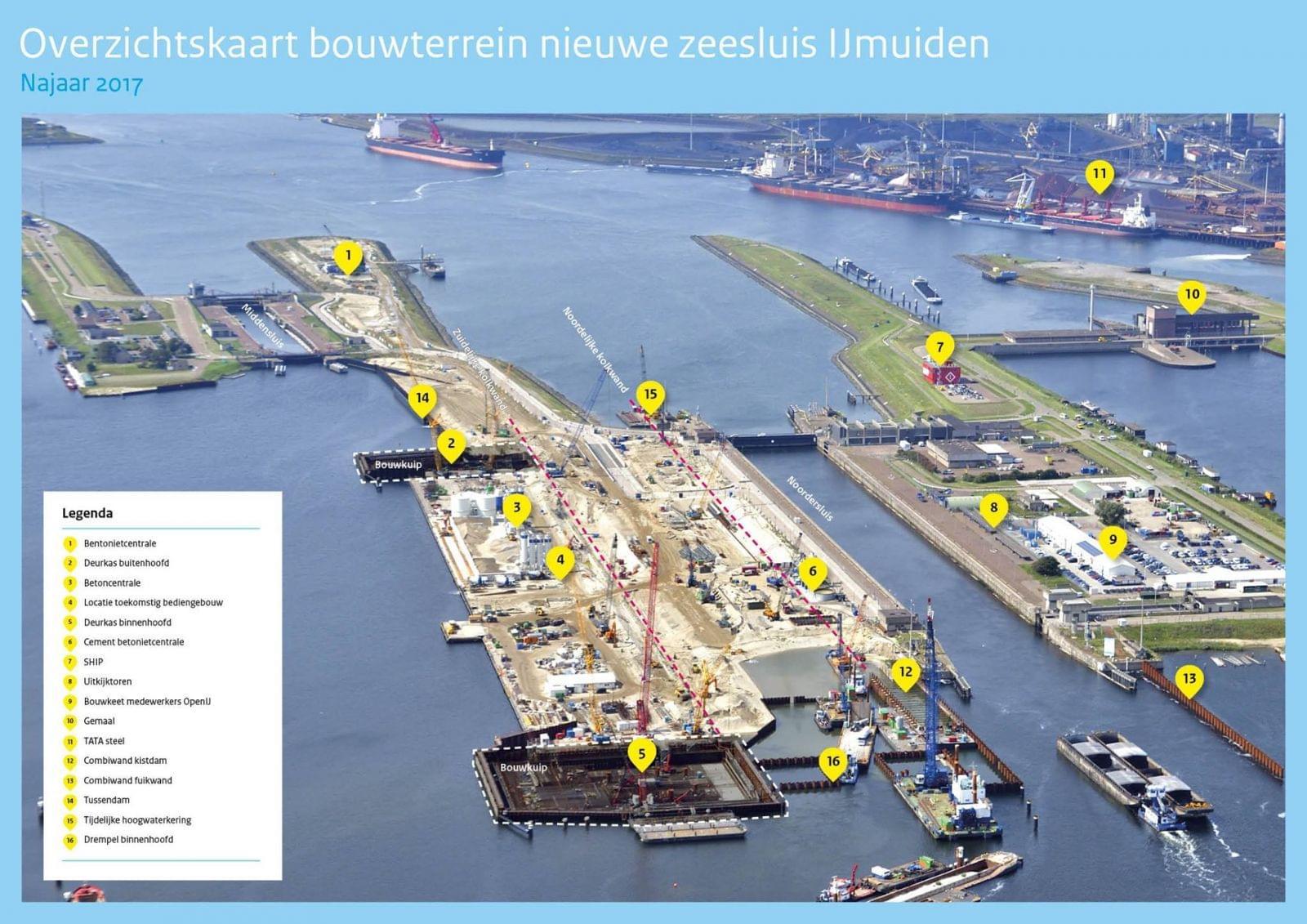 Overzichtskaart werkzaamheden zeesluis IJmuiden(1)